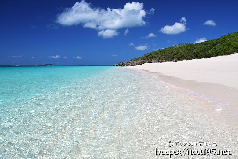 来間島の絶景ビーチ-長間浜-