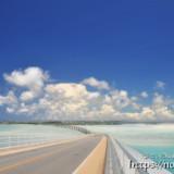 伊良部大橋と幻の浜