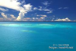 干潮で現れる幻の島