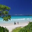 伊良部島のビーチと海