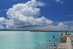 入道雲と島っ子たち