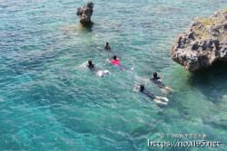 島っ子たちの夏遊び