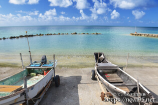 古い漁港の風景-久松アカバー-
