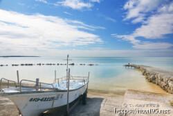 久松アカバーの古い漁港